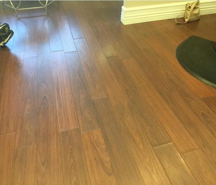 Water Damage Laminate Floor In Monmouth County, NJ